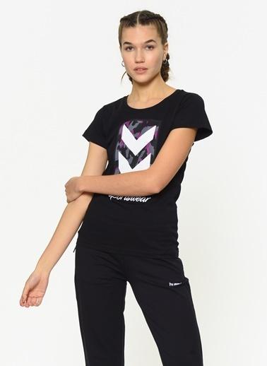 Hummel Kadın Agoptos Tişört 910418-2001 Siyah
